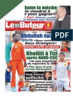 LE BUTEUR PDF du 08/01/2011