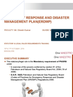 Emergency Response and disaster management plan(erdmp)