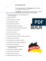 Café in Berlin Workbook