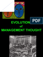 3- evolution of management thought