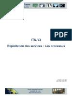 ITIL V3. Exploitation des services _ Les processus