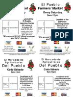 Revised El Pueblo Flyer
