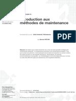 Introduction aux méthodes de maintenance.pdf