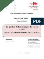 Rapport de Stage Carrefour