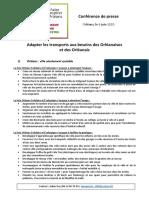 OSE - Dossier de Presse - Mobilité 6 Juin 2020