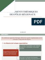 Fondements théoriques des pôles régionaux