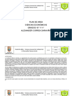Plan de are Ciencias economicas