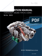 Rotax Installation Manual for Rotax Engine Type 912 Series, Reference Number IM-912 d04683