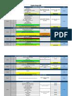 GD Course Calender (1) - Week days