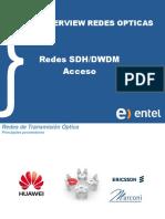 Inducción SDH y DWDM