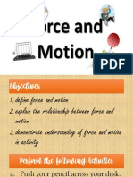 8 - FORCE AND MOTION