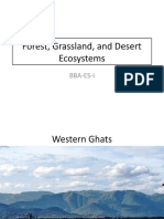 Forest, Grassland, and Desert Ecosystems