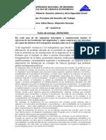 Laboral - Deberes y Derechos de las partes