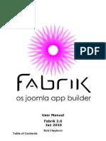 Fabrik User Manual 2 0 Rev2