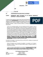 Circular No. 344 Abril 28 de 2020 REGISTRADURIA ELECTORAL