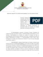 Tribunal de Justiça do Estado do Pará - Portaria Conjunta n. 14-2020 - Prorroga o Regime Diferenciado de Trabalho até 30 de junho
