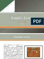 Gramática escolar