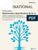 Maths B igcse