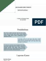 PPT-CBD-EFUSI PLEURA MASSIF