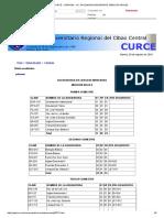 CURCE __ PENSUM - LIC. EN LENGUAS MODERNAS, MENCION INGLES