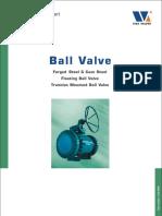 VIZA BALL VALVE