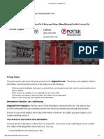 Privacy Policy - Allegiant Fire