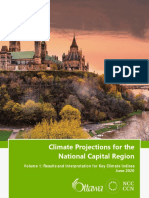 Climate Projections for the National Capital Region   City of Ottawa and NCC