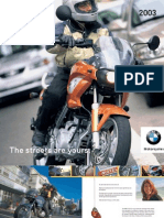 2003 F650CS Scarver Brochure