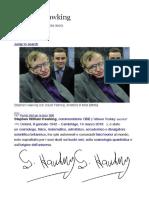 Stephen Hawking - Biografia