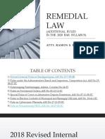 Remedial Law 2020 Atty. Esguerra