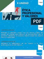 10 Ética Profesional y Valores