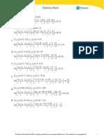 Edexcel IAL P2 Exercise 2A (Solution)