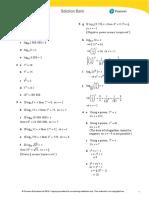 Edexcel IAL P2 Exercise 3B (Solution)
