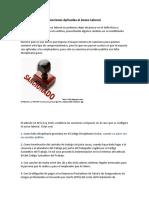 Sanciones Aplicadas al Acoso Laboral.docx