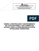 NRF-256-PEMEX-2010 DISEÑOS DE LOCALIZACIONES TERRESTRES