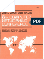 ARRL - Computer Networking Conference 8 ( 1989 )