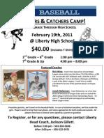Pitchers Catchers Camp