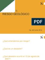 Semana 11-Riesgo Geológico