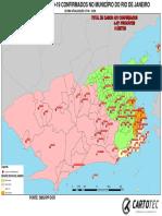 Mapa Coronavirus - MArço 2020 RJ
