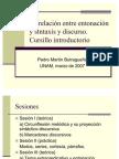 Entonacion y Sintaxis y Discurso 1
