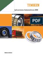 TIMKEN Catálogo de Aplicaciones Automotrices 2008.pdf