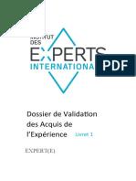 VAE-Livret-1-Experte-Internationale