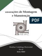 Manual Manutenção e Instalação - Bombas Reval