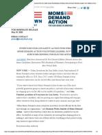 everytown for gun safety action fund endorses 39 moms demand action volunteer leaders gun violence survivors running for elected office