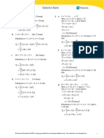 Edexcel IAL P2 Exercise 5B (Solution)