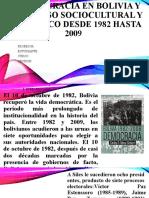 LA DEMOCRACIA EN BOLIVIA