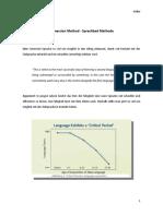 Immersion Method - Sprachbad Methode