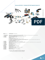 Kit de iny sec GNC 4 cil P37 - 4 cyl CNG seq inj kit P37