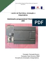 Autómato programável Siemens s7-200