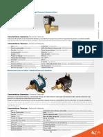 Electrovalvula de Alta Presión -  High Pressure Solenoid Valve